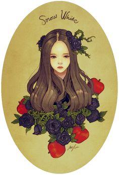 """김스타 (Kim Star), """"백설공주""""  (""""Snow White"""")"""