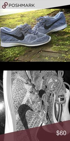 b8907bcca256 Nike Flyknit Lunar3 Running Shoes 698181-011 Dynamic Fit technology wraps  the midfoot and arch