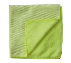 Mikrofasertuch 2 in 1 mit weissem Netz Towel, Mesh, Towels