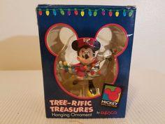 Disney Mini Mouse Mrs Claus Outfit Tree-rific Treasures Hanging Ornament Enesco #Enesco