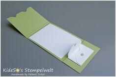 Geldkarte mit dem Envelope Punch Board, Stampin' Up! Bocholt, Anleitung Schritt für Schritt