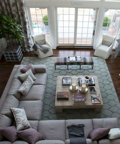15 Amazing Furniture Layout Ideas To Arrange Your Family Room 6 living room seating 15 Amazing Furniture Layout Ideas to Arrange Your Family Room Large Living Room Furniture, Living Room Furniture Arrangement, Living Room Seating, New Living Room, Small Living Rooms, Living Room Designs, Family Furniture, Arrange Furniture, Furniture Ideas