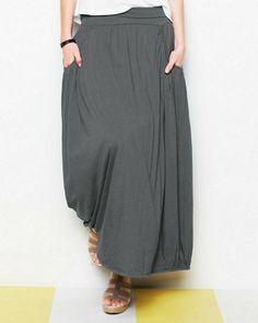 Favorite Maxi Knit Skirt $88 Garnet Hill