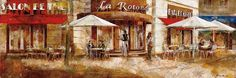 La Rotonde by Noemi Martin Painting Print on Wrapped Canvas
