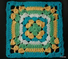 115/365 Granny Square #2 | FINALLY back to the square a day … | Flickr