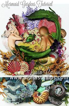 Alpha Stamps News » TWO Mermaid Projects, New Gilded Lily Papers + FREE Gift Kit & FLASH SALE!