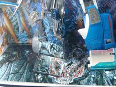 #custranz Mid-electro disruption Mirage disrupted leg #detail #customdecals #customtransformer #autobot #transformers #creative #designer #aimhigh #toyphotography