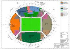 Craiova Football Stadium Proposal,plan diagram