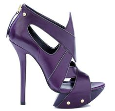camilla skovgaard purple leather platform sandals pre fall 2012