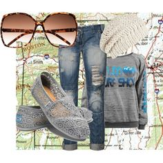 Road Trip outfit, skip the hat, different jeans, yes!