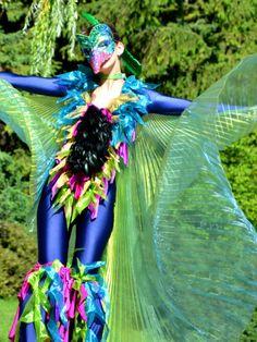 Artiste de cirque pour un évènement / La toundra Rave, Style, Fashion, Artist, Raves, Moda, La Mode, Fasion, Fashion Models
