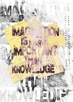 Imagination - Knowledge - Albert Einstein
