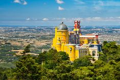 If you are wondering what to see in Sintra near Lisbon, here are some hints as to what to do and visit. Sintra is a wonderful one day trip Most Romantic Places, Beautiful Places, Lonely Planet, Cool Places To Visit, Places To Go, One Day Trip, Places In Europe, Train Rides, Moorish