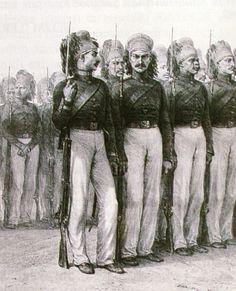 OĞUZ TOPOĞLU : asakir-i mansure-i muhammediye askerleri gravürü
