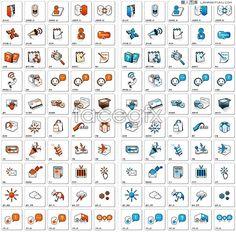 Practical web design decorative icon vector