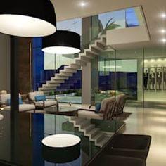 Projeto: Corredores, halls e escadas modernos por Gramaglia Arquitetura