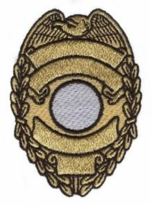 Embroidery.com: Police Badge: Individual Designs