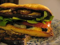 vegetarian sandwiches | This is a recipe for one of the best vegetarian sandwiches you'll ever ...