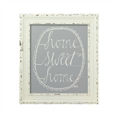Home Sweet Home Framed Sign