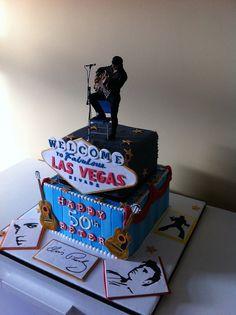 Elvis cake by Cakes by Lea, via Flickr