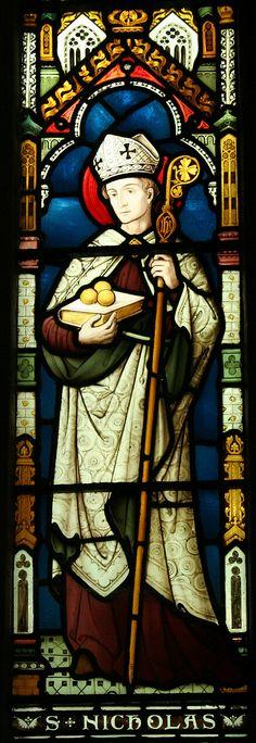 St. Nicholas - stained glass St Nicholas Church, Thames Ditton