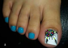 Cute Toe Nails, Toe Nail Art, Love Nails, How To Do Nails, Fun Nails, Painted Toe Nails, Acrylic Nails, Toe Nail Designs, Nail Polish Designs