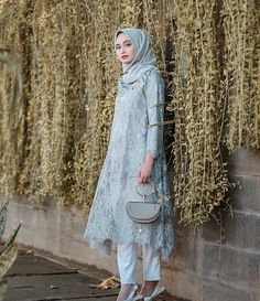 New Ideas Party Dress Ideas Casual Kebaya Modern Hijab, Dress Brokat Modern, Kebaya Hijab, Model Kebaya Muslim, Model Kebaya Brokat Modern, Kebaya Lace, Kebaya Dress, Dress Pesta, Dress Brokat Muslim