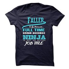 NINJA FALLER T-SHIRT T-SHIRTS, HOODIES, SWEATSHIRT (22.99$ ==► Shopping Now)
