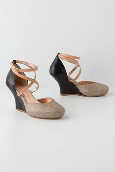 Nakia Wedges #anthropologie