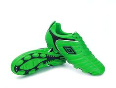Umbro Cup AG Football Boots All Green Black 93e00757621b