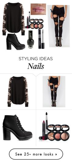 """Untitled #108"" by idontknowwhattosayanymore on Polyvore featuring H&M, Christian Dior and Laura Geller"