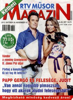 Papp Gergő & Judit (2013.10.28. Kétheti rtv műsor magazin) #PappGergo