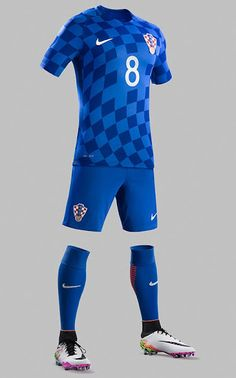 football  kit  euro  croatia  away Uniformes De Futbol 2017 07b3a4dac54e2