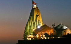 According to Hindu mythology, Somnath Temple was first built with gold by Moon God, with silver by Ravana, with sandalwood by Lord Krishna, and with stone by Bhimdeva Solanki, Gurjar Ruler of Gujarat.....!!!