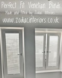 Fitted these #blinds yesterday in #Newquay.   Perfect fit #venetian #blinds....no holes or drilling required. The #blinds are in a frane which clips onto your window bead.  Perfect for upvc windows, doors, conservatories, bi-folds and tilt n turn windows  If u would like a no obligation quote get in touch via our Facebook page or visit our website www.zodiacinteriors.co.uk   We cover all of #Cornwall   01637 871862  Lisa ❤❤