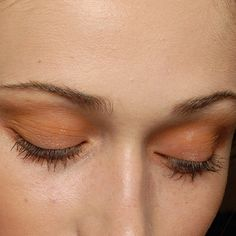 peach eyeshadow #beauty #makeup | @andwhatelse