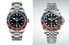 In an opening salvo of releases that instantaneously became the first buzz topic of Basel 2018, Rolex and Tudor have simultaneously released 'Pepsi' GMTs; Rolex with a GMT-Master II with two-colour blue and red Cerachrom bezel and the Tudor Black Bay GMT, with two-colour red and blu...