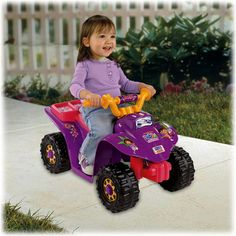 Fisher-Price Power Wheels Dora Lil Quad | Kids Cool Toys
