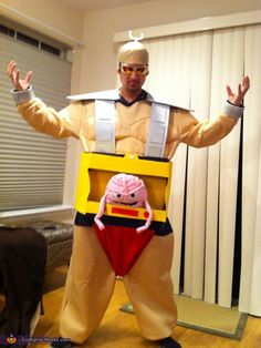 TMNT Krang! - Homemade costumes for adults