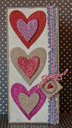 Xyron Design Team Member Jessica Barnett's Valentine's Day Card