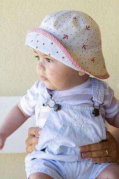 Saídos da Concha: Oliver + S Reversible Bucket Hat.....free download pattern :)