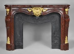 Bronze and gold fireplace mantel - Google Search