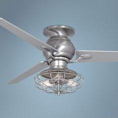 """60"""" Casa Spyder Nostalgic Industrial Steel Ceiling Fan"""