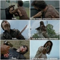 The walking dead seriously one of the best memes yet