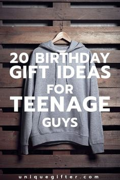 20 Cool Birthday Gifts For Teenage Guys