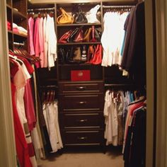 Small Walk In Closet Designs small walk-in-wardrobeoh, the possibilities!!!! | bedrooms