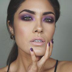All purple everything via Melissa Alatorre on instagram @alatorreee. Purple nail polish is Iris by Zoya (matte)