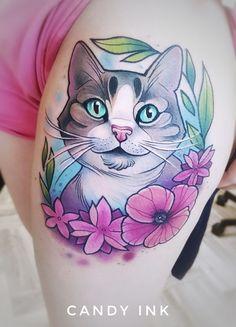 Resultado de imagem para neo traditional tattoo for women