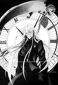 Commission: Undertaker Shinigami - Black Butler by Ardeuccia92 on DeviantArt