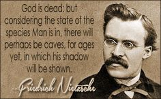 """""""Friedrich Nietzsche prophesied the death of God with empty churches as a consequence. But it didn't take outsiders to kill God. His people and especially ..."""